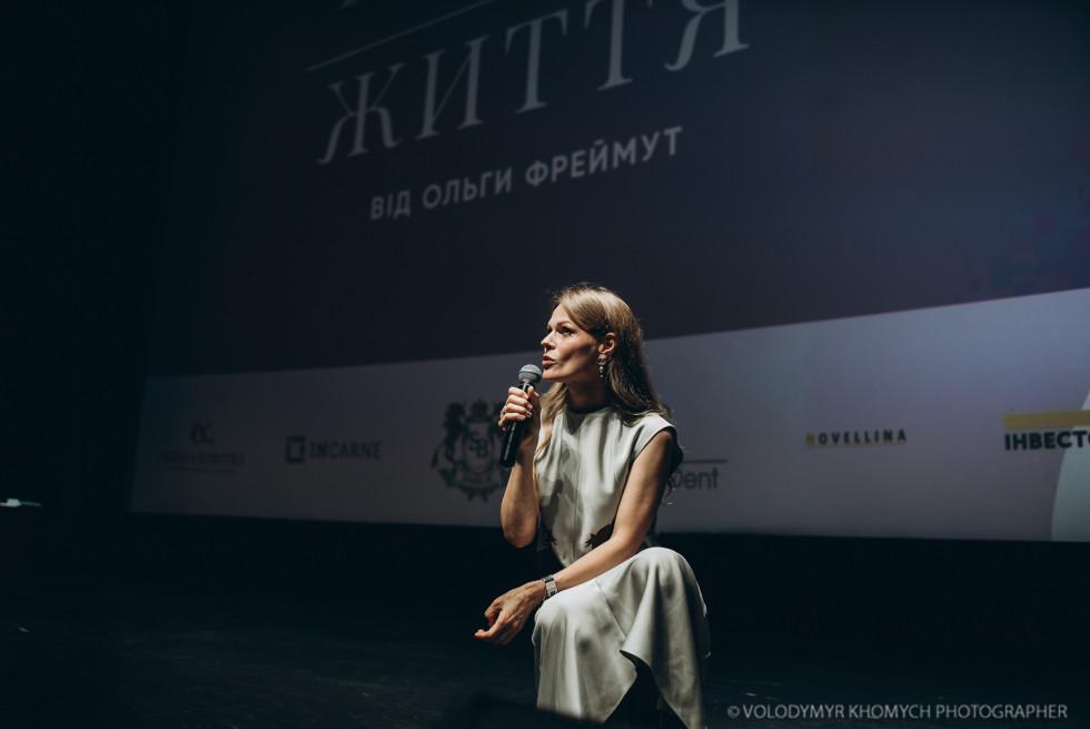 Ольга Фреймут жартувала, говорила про стосунки, манери, секс і дітей.