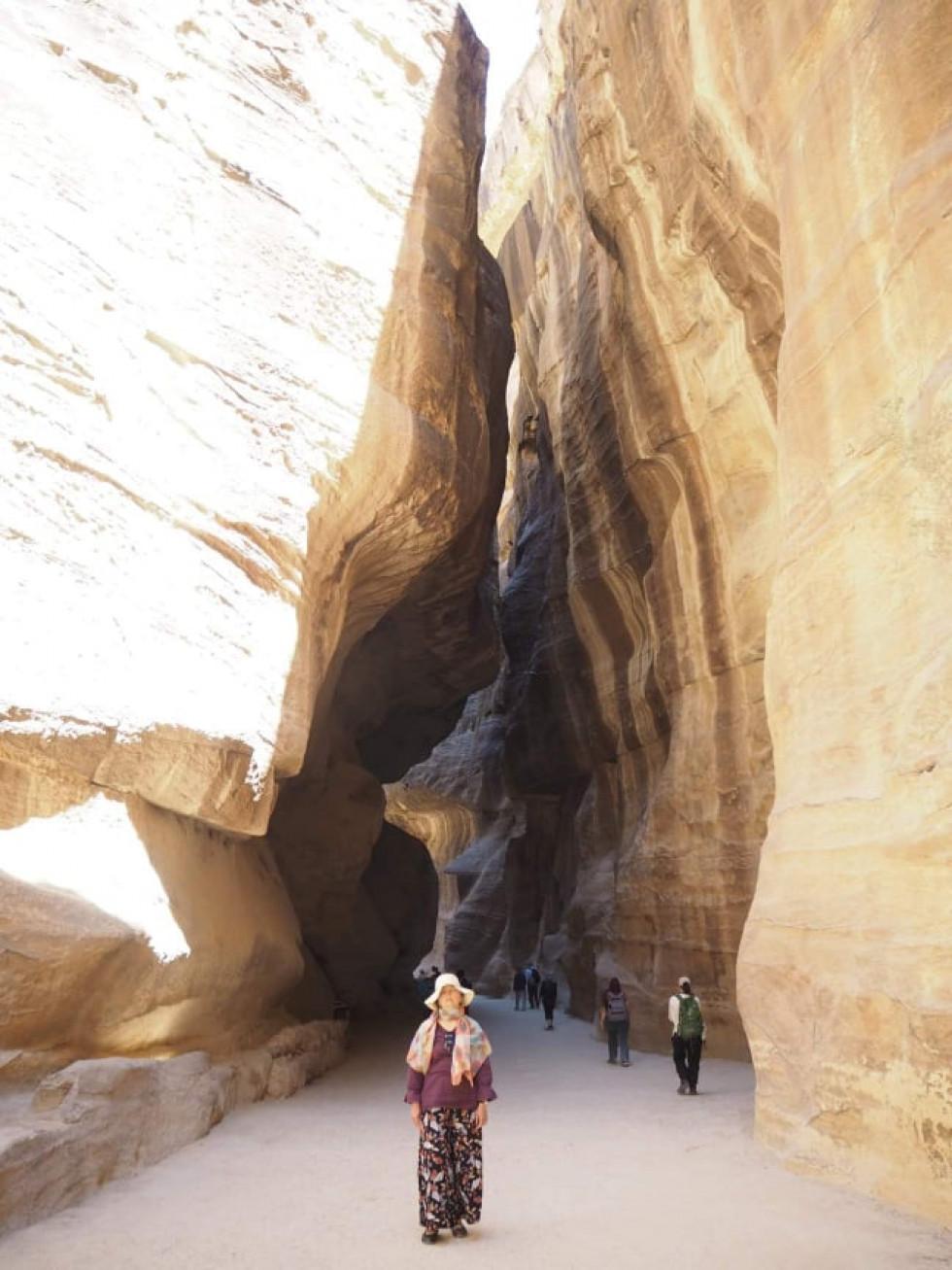 Каньйон Сік, прохід до скарбниці в Петрі