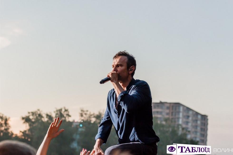 Концерт «Океана Ельзи» у Луцьку