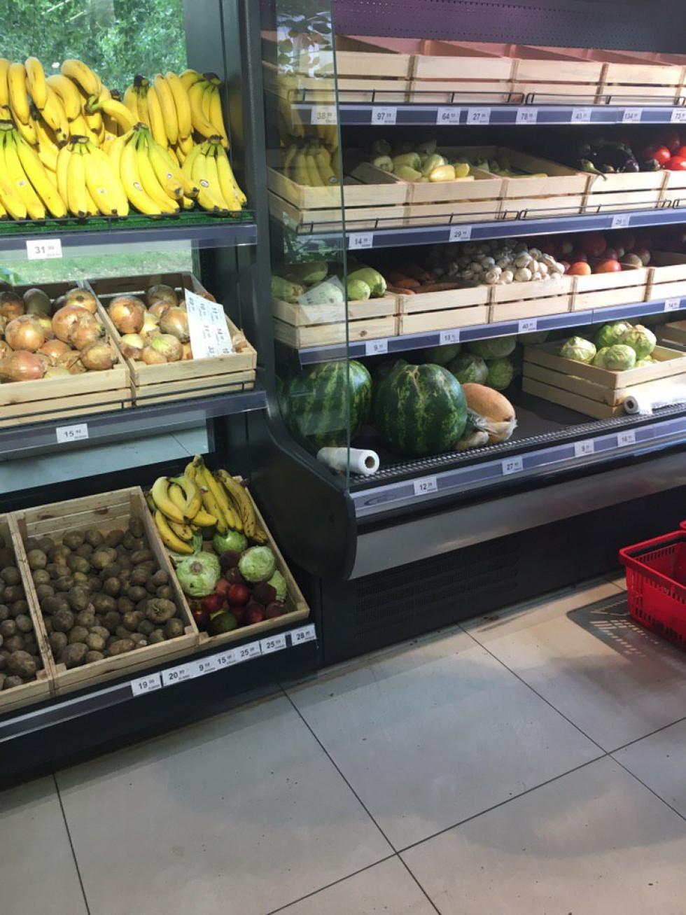 кавуни у супермаркеті «Spar»