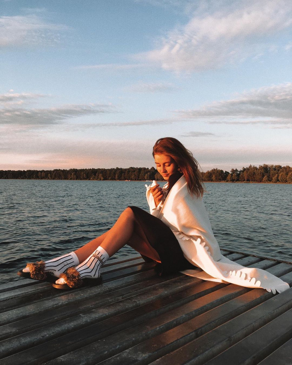 Красуня дня: стильна Міра