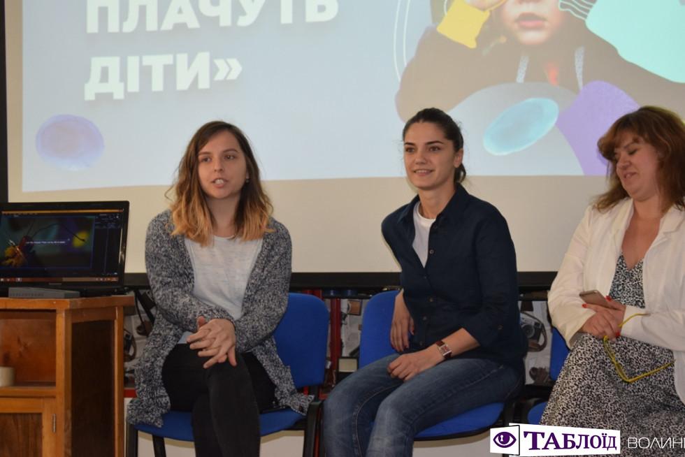 прес-конференція проекту«Чому плачуть діти»