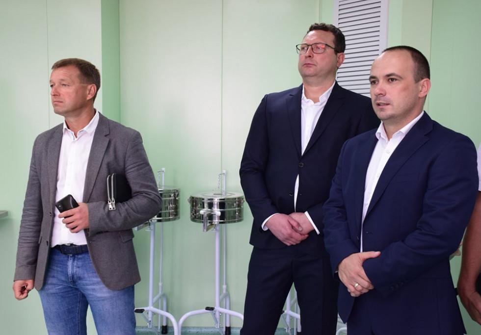 Відкриття Волинського обласного перинатального центру