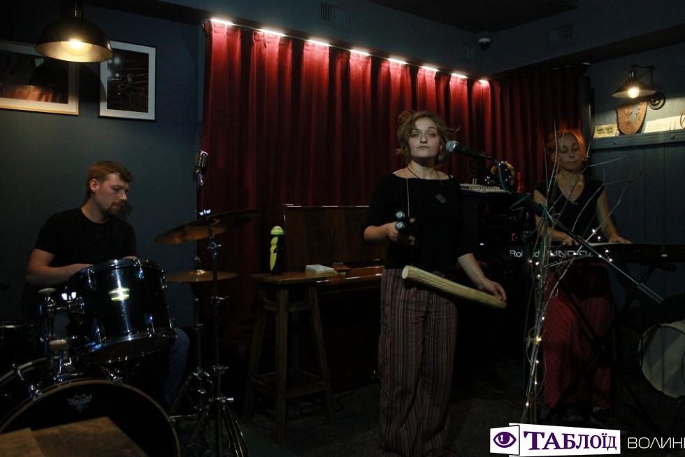Джазовий концерт у клубі «Цитра».