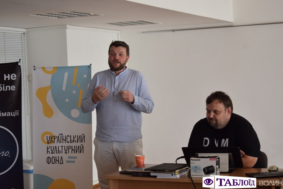 Майстер-клас  Антона Петрусевича
