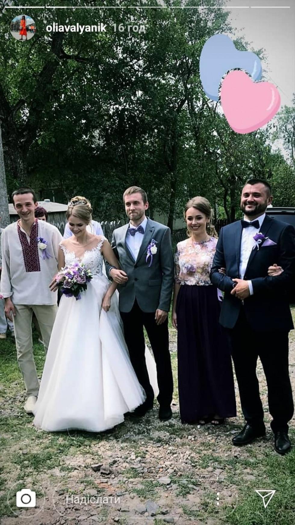 Анатолій Котлюк та Василина Боруцька одружилися