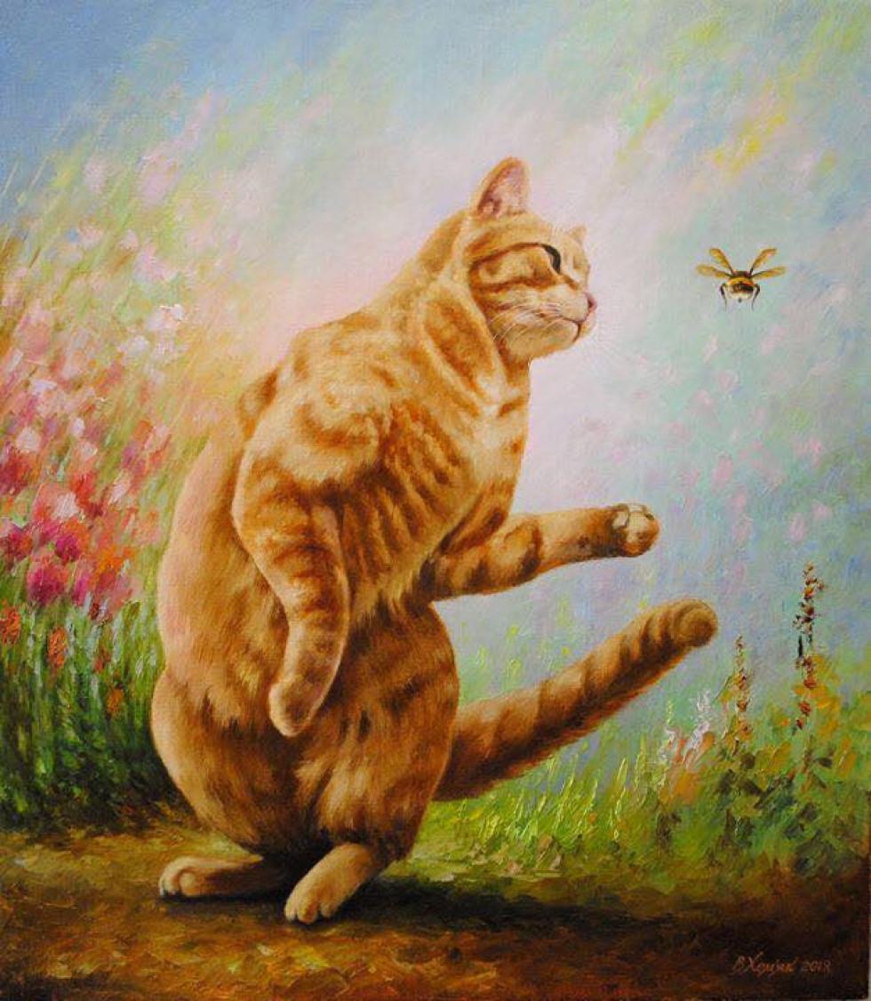 Картина Віктора Хом'яка