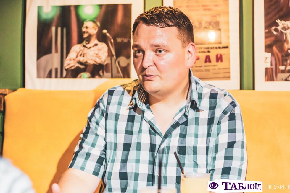 Інтерв'ю з Віктором Грисюком