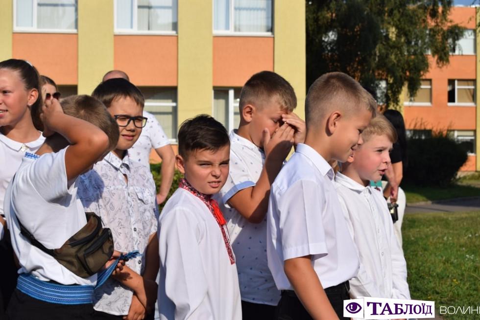 як розважали першокласників у волинській гімназії № 21