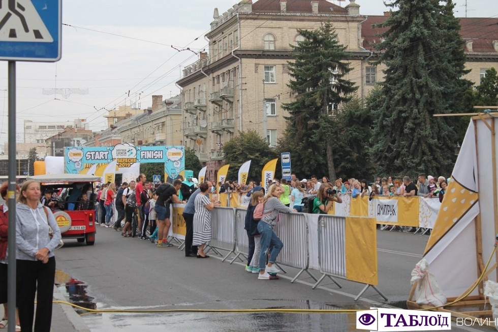 Фізкульт-привіт: Луцьку стартував масштабний півмарафон