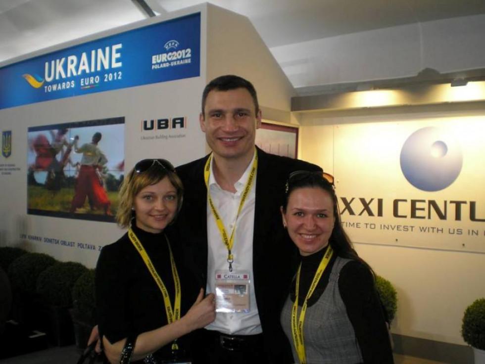 З Володимиром Кличком на виставці девелопменту  в Каннах представляли проекти нерухомості України для залучення інвестицій