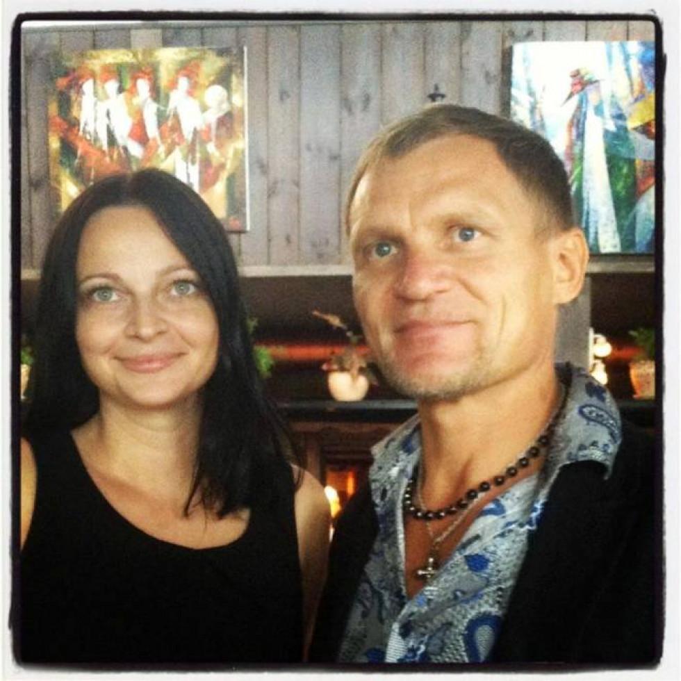 З веселим та запальним Олегом Скрипкою
