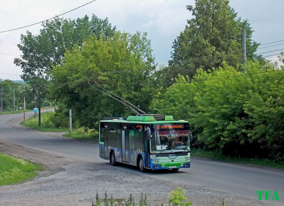 Луцькі тролейбуси