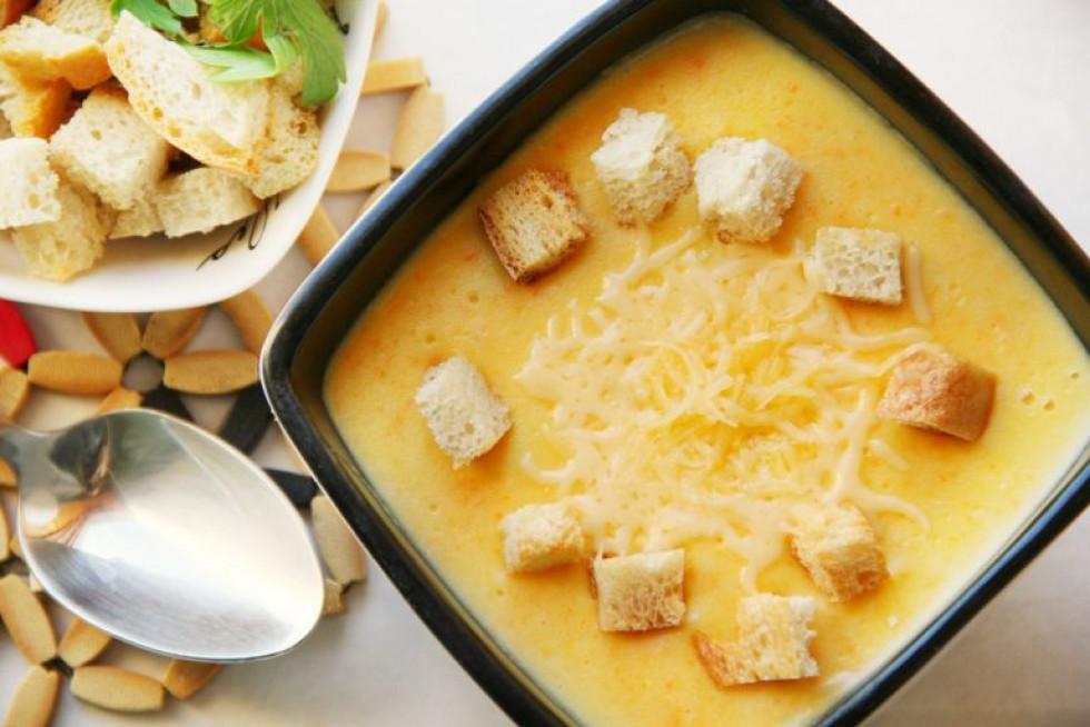 Морквяний крем-суп з коріандром