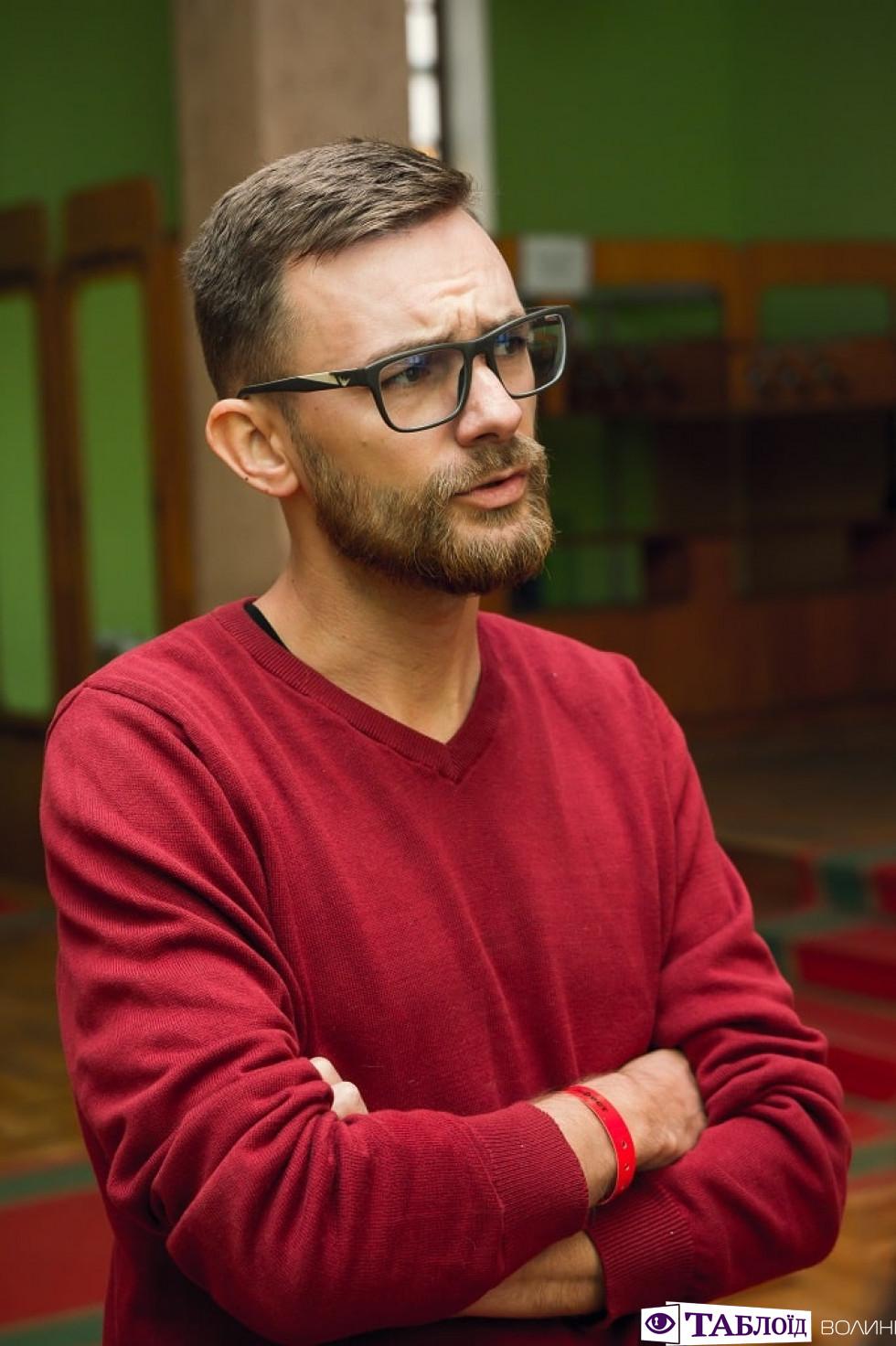 Розмова з письменником Павлом Коробчуком