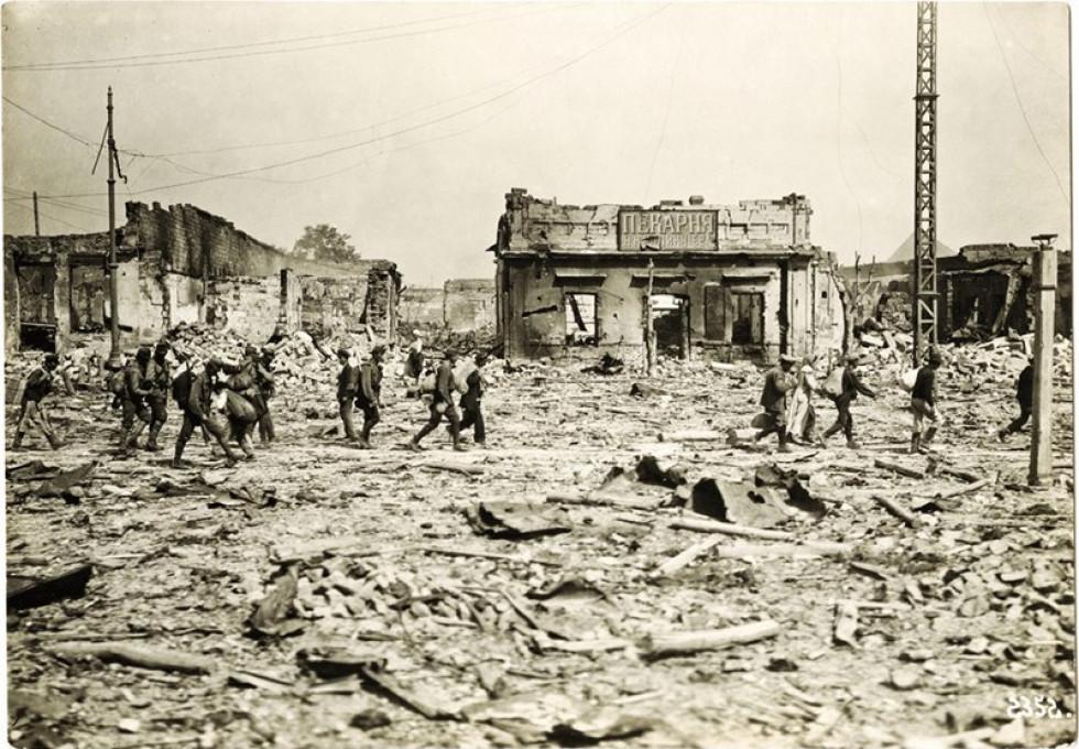 Володимир-Волинський в роки Першої світової війни