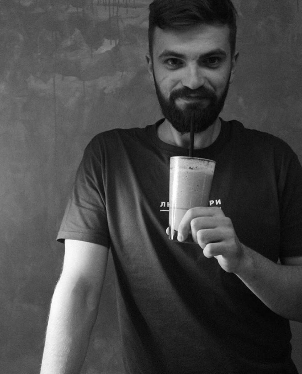 Власник «Це кави» Вадим Барабуха
