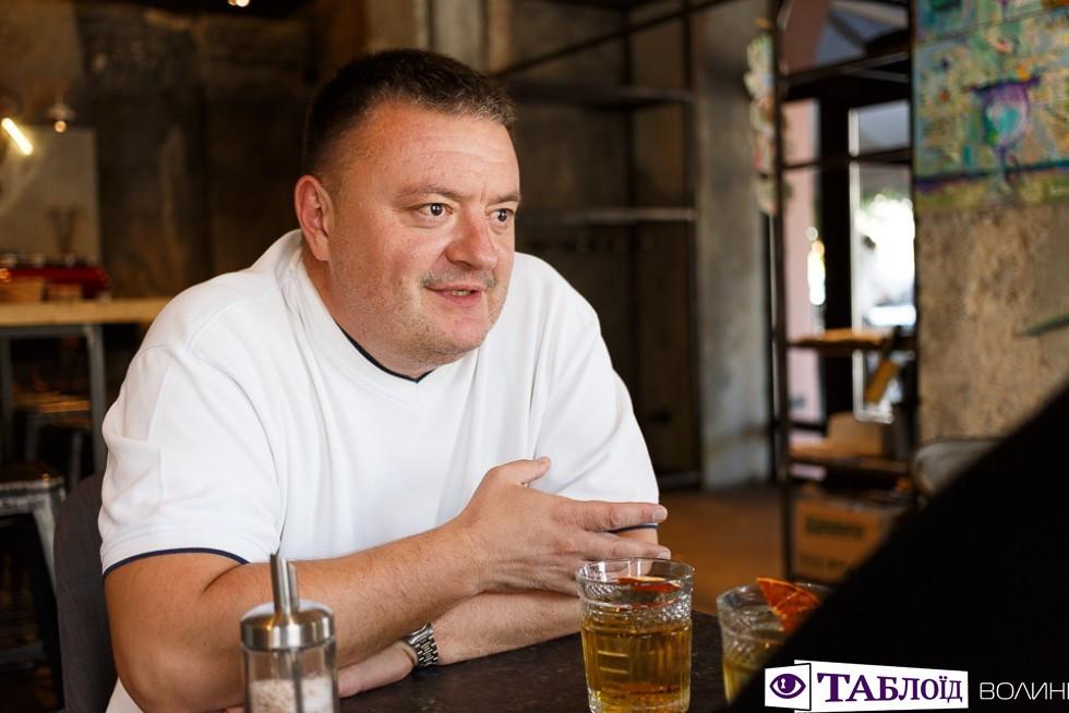 директор Луцького центру первинної медичної допомоги  Ігор Гнетньов