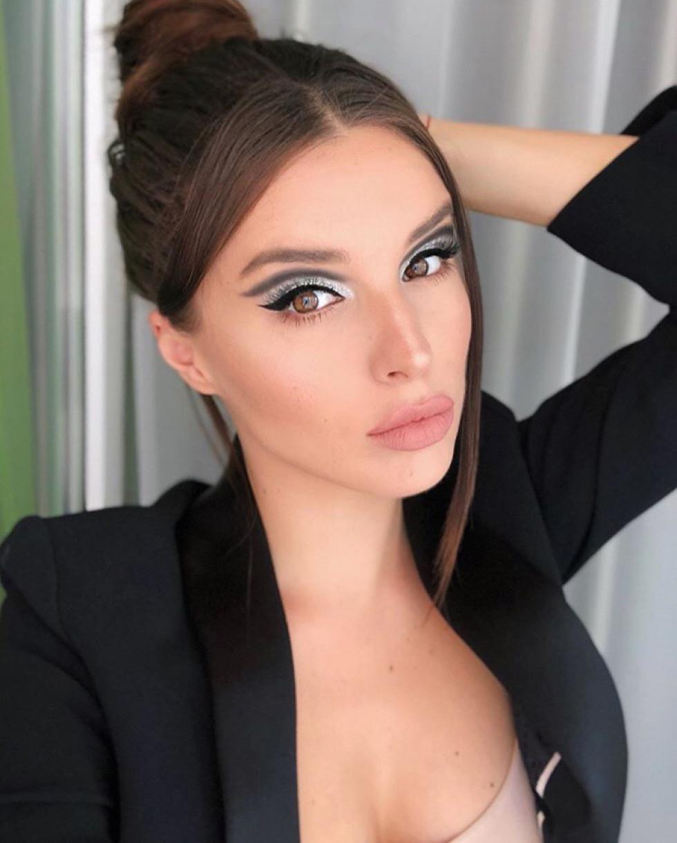 Ольга Кобахідзе – модель, яка робить макіяж не гірше, ніж професійні візажисти