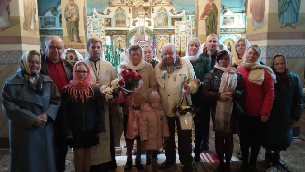 Вінчання подружжя Радчуків