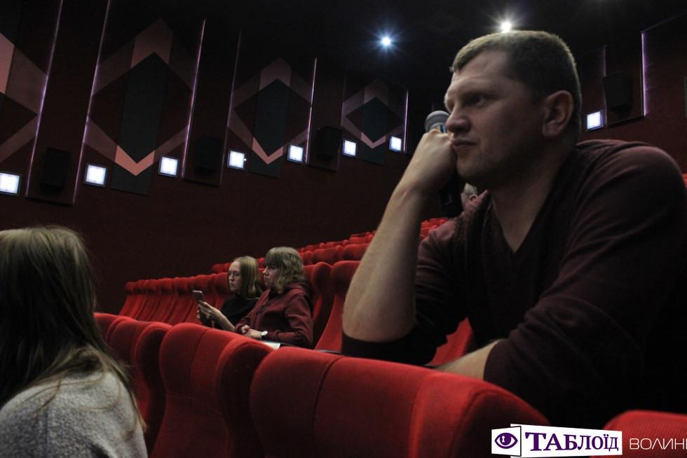 У Луцьку дивилися фільм про українців у Голлівуді