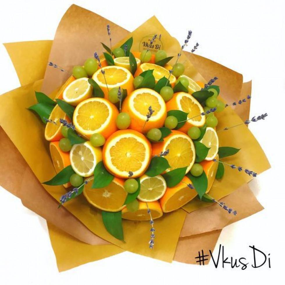 30 днів до свята: створюємо креативні букети з цитрусових