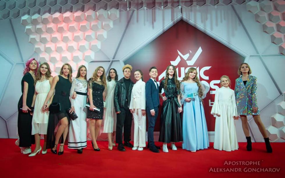 Анна Ткач на M1 Music Awards