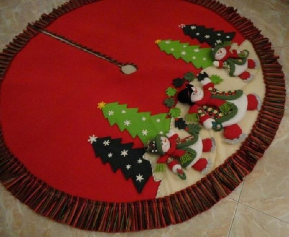 24 дні до свята: створюємо спідничку для ялинки