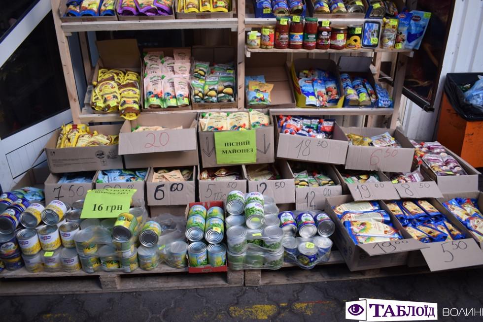 Продукти на ринку чи в магазині знайти неважко