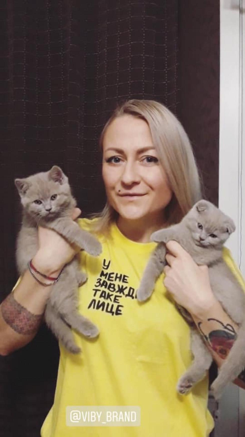 Чому Вікторія Жуковська перерізала котячу пуповину
