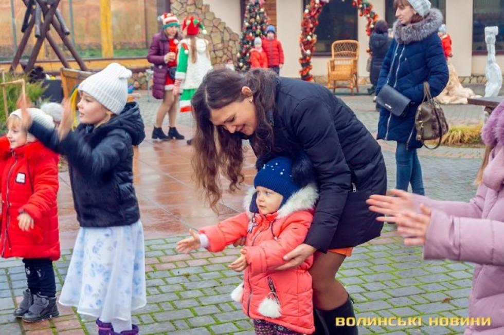 Як у Луцькому зоопарку зустрічали святого Миколая