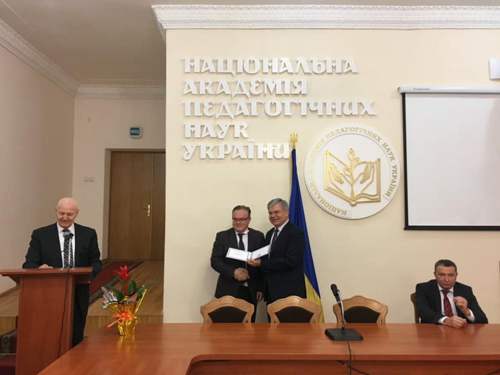 Майже академік: екс-ректор СНУ Коцан похвалився новим званням