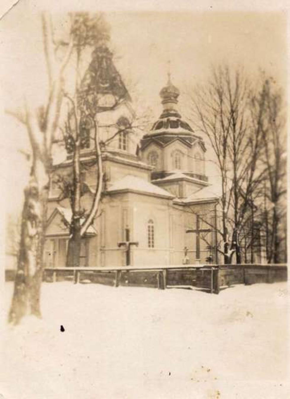 Як виглядала волинська церква майже століття тому. ФОТО