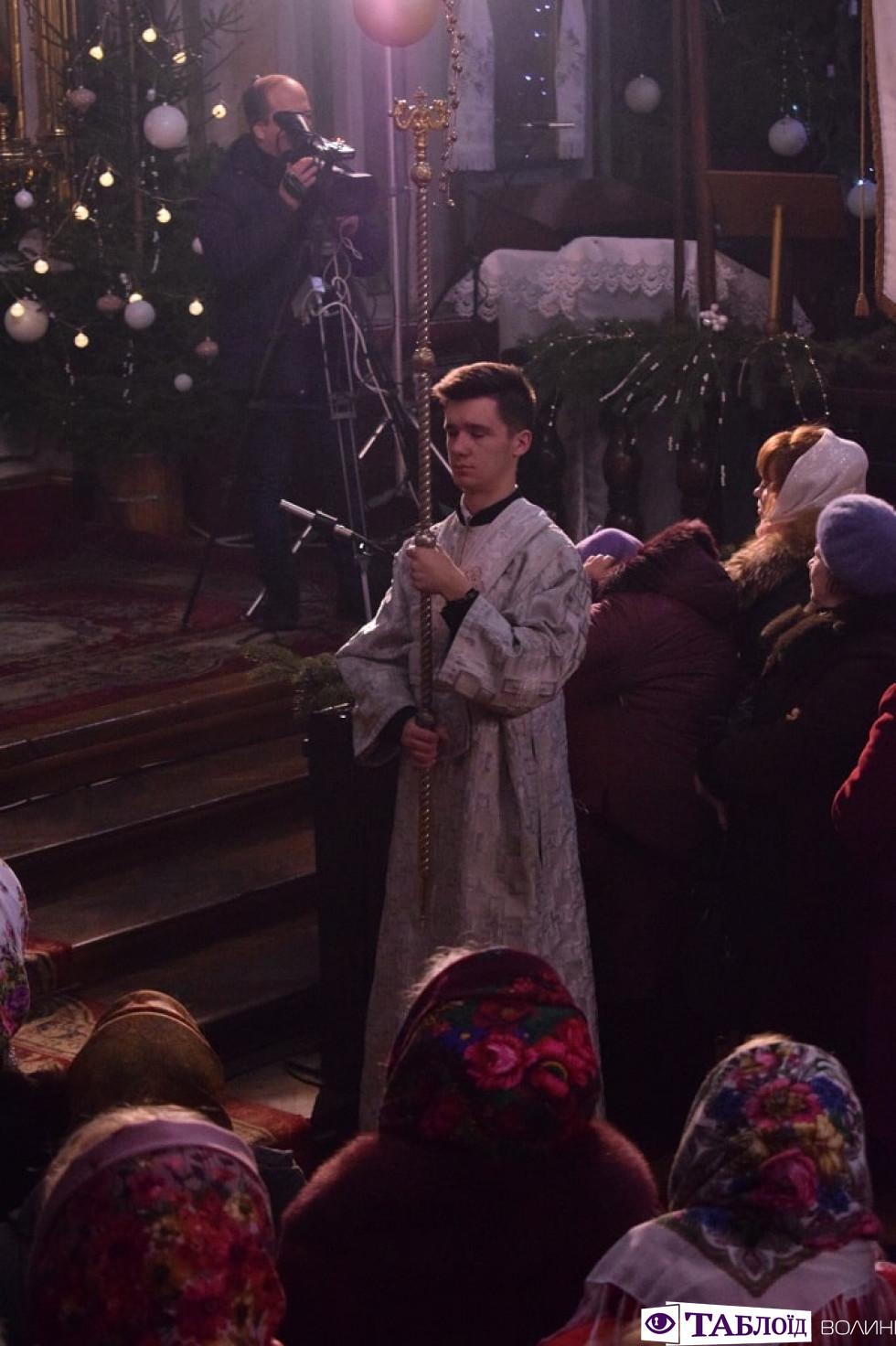 Різдвяна літургія кафедральному соборі Святої Трійці