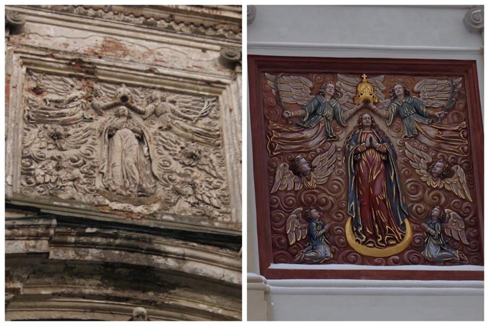 Як змінився костел в Олиці після реставрації