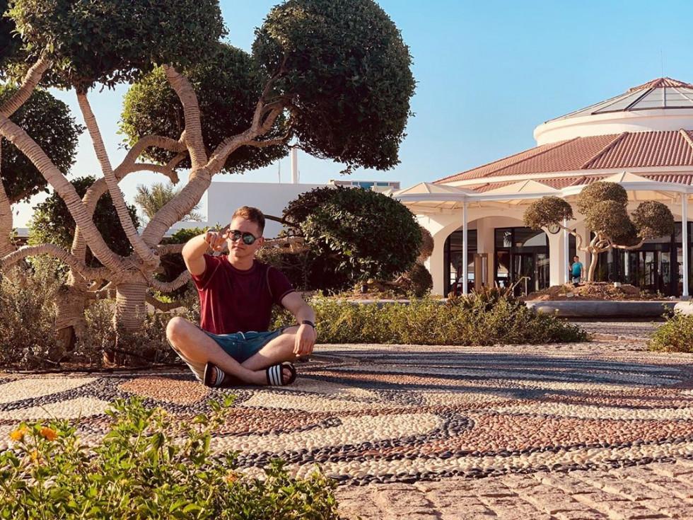 Красень дня: активний мандрівник Рувим