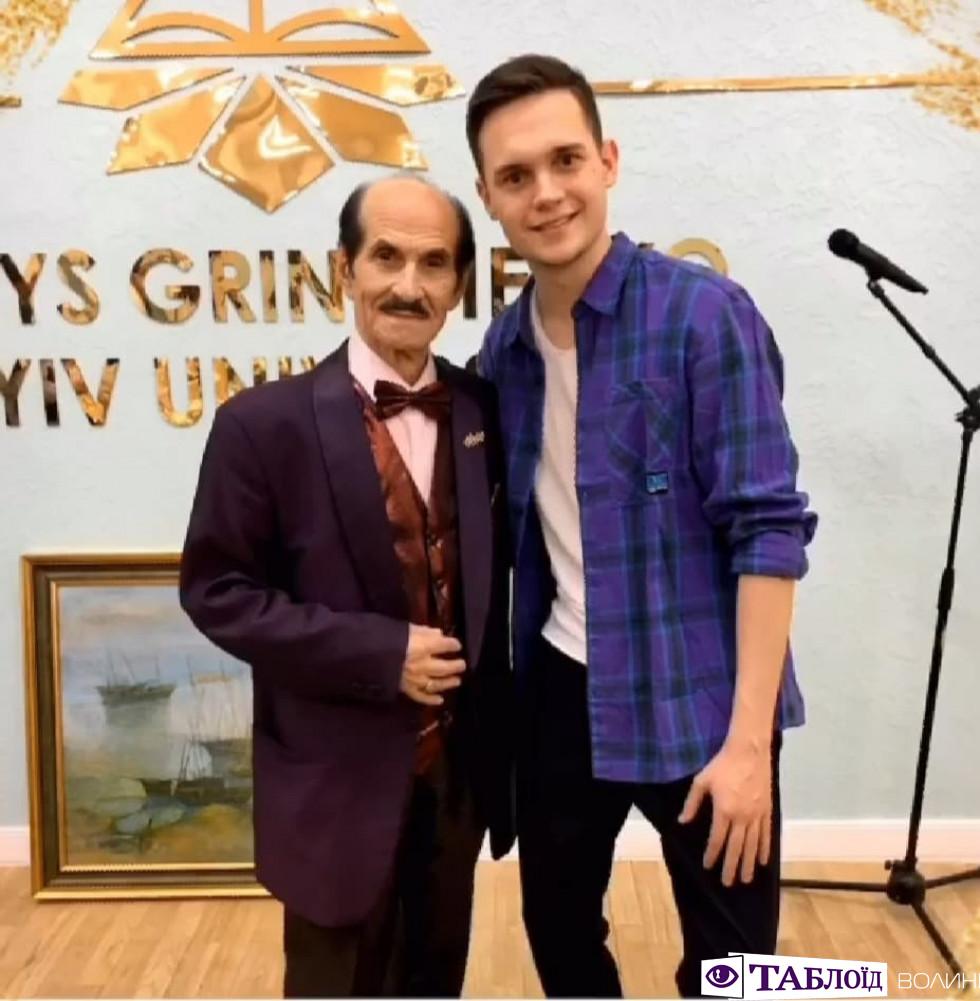 Волинянин засвітився з легендарним українським танцівником. ФОТО