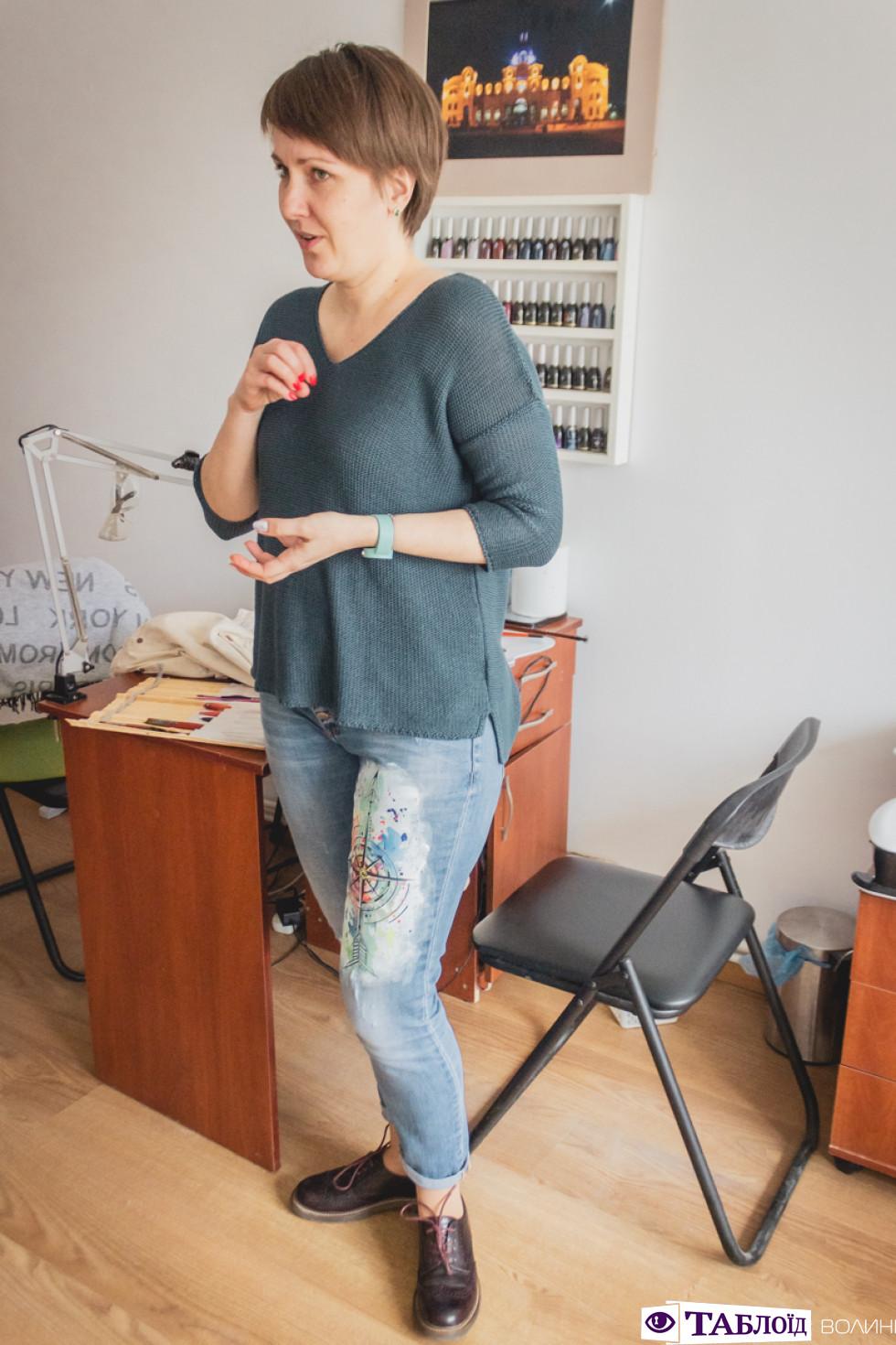 Професія крізь об'єктив: кастомізація одягу від лучанки Олександри Власюк