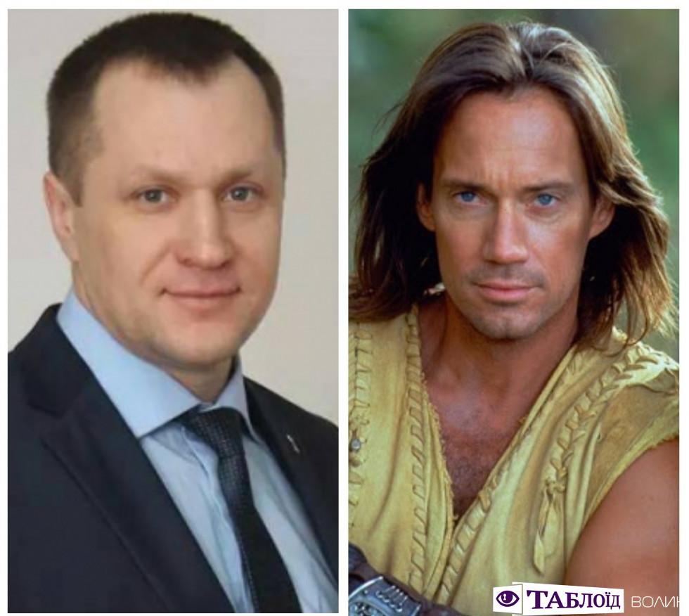 Андрій Авраменко та Геркулес (Кевін Сорбо)