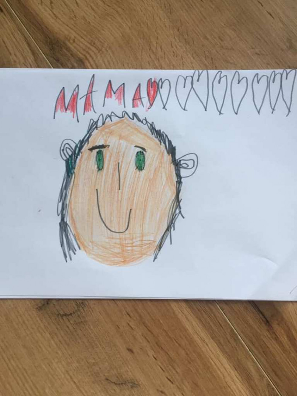 А це прекрасний портрет Катерини Пекної