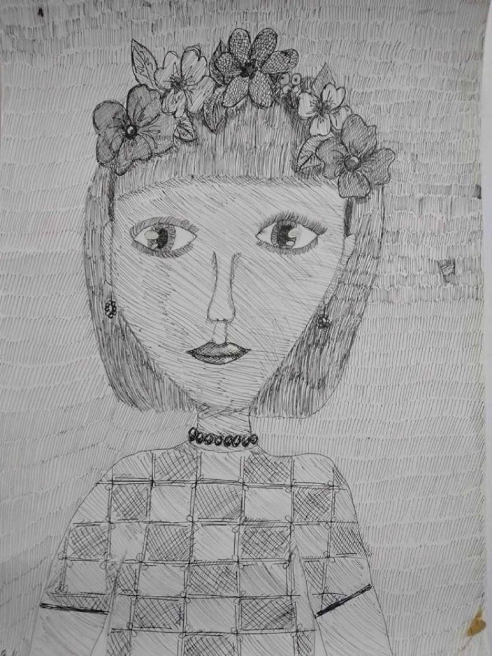 Чудовий портрет талановитої мами Мар'яни Царук-Нікольчукук-