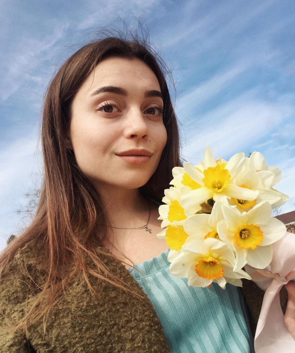 Красуня дня: усміхнена Олександра