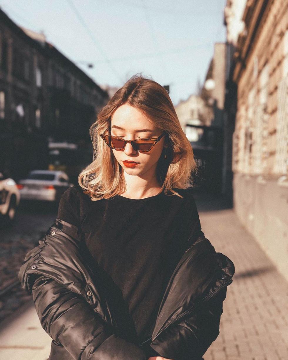 Красуня дня: «не типова блонда» Стася