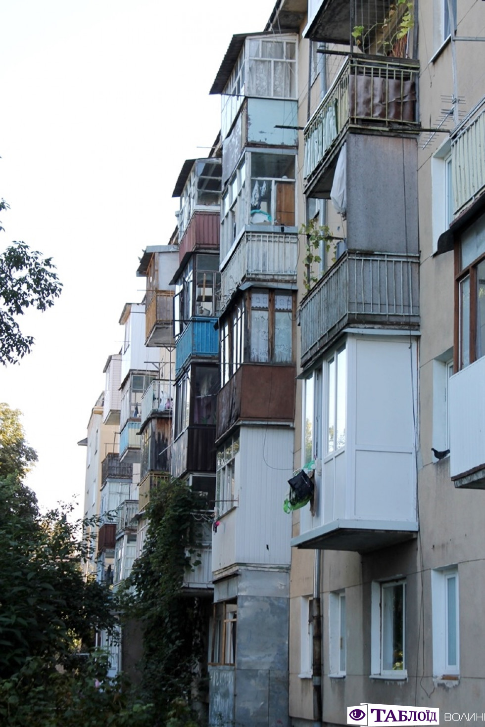 Балкони Луцька: вулиця Гулака-Артемовського. ФОТО