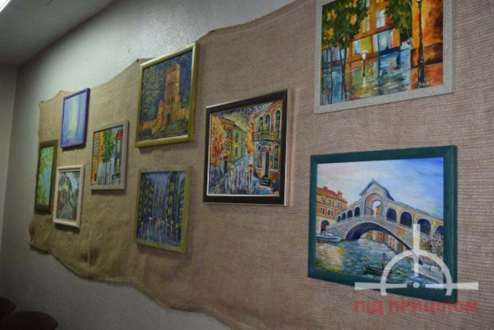 Виставка картин Світлани Луцюк