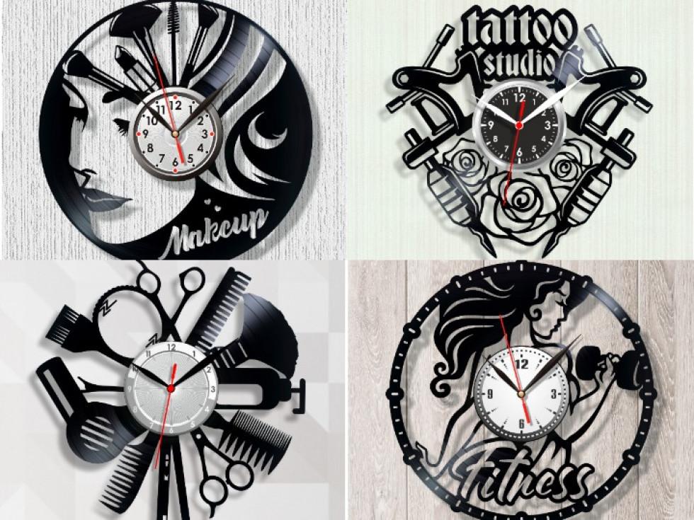 Вінілові годинники