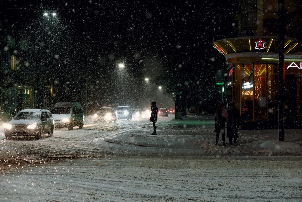 Зимові фото Лідії Кожевнікової