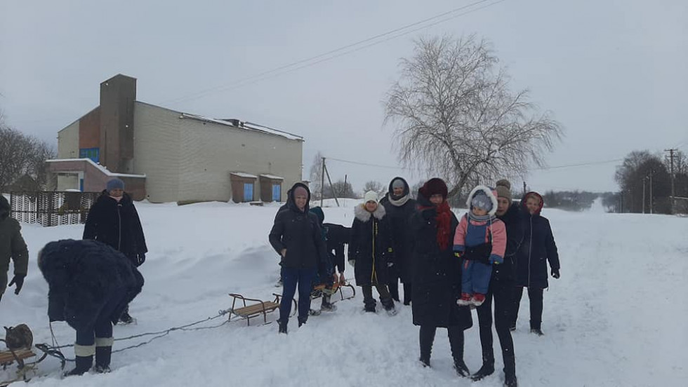 Зимова гулянка у Лемешеві