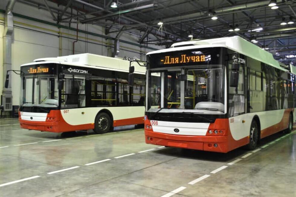 Нові луцькі тролейбуси