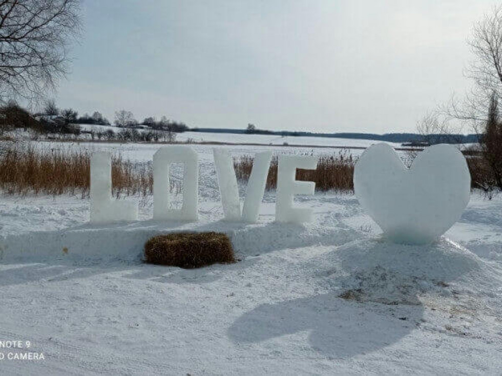Льодова фотозона у Підбереззі